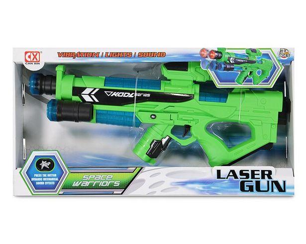 Oferta de Pistola de Juguete con Luz y Sonido Laser Gun por $179