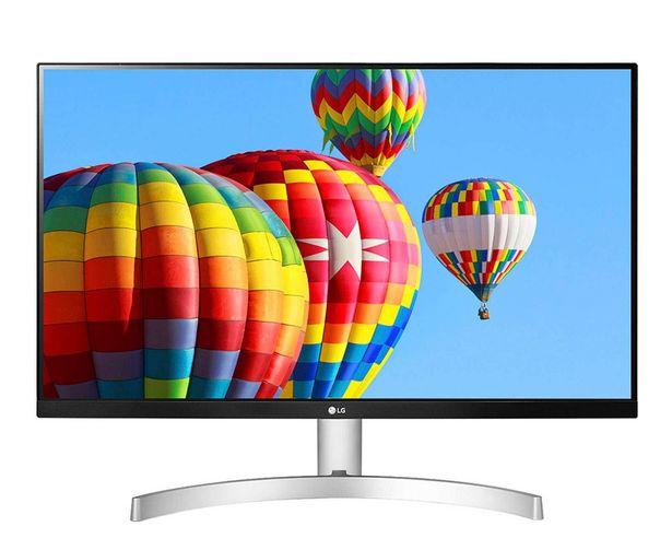 """Oferta de Monitor LG 27"""" 27MK600M-W Full HD por $5199"""