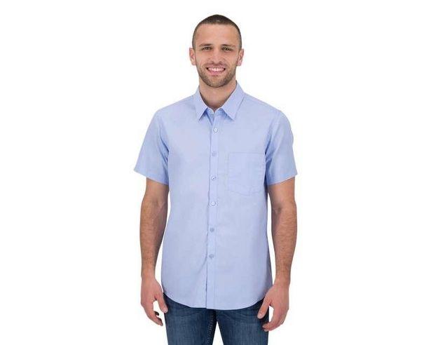Oferta de Camisa Manga Corta color Azul marca Refill para Hombre por $179