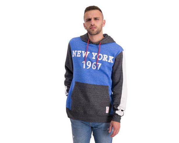 Oferta de Sudadera Azul marca Refill para Hombre por $299