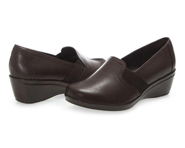 Oferta de Zapatos de Piel marca Flexi color Café para Mujer por $599