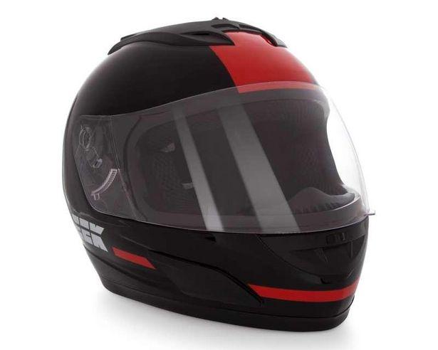 Oferta de Casco para Motociclista Sleek Extra Grande Visera Abatible por $799
