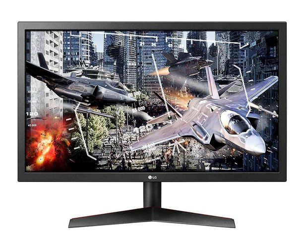 "Oferta de Monitor Gaming LG 23.6"" 24GL600F-B Full HD por $6299"