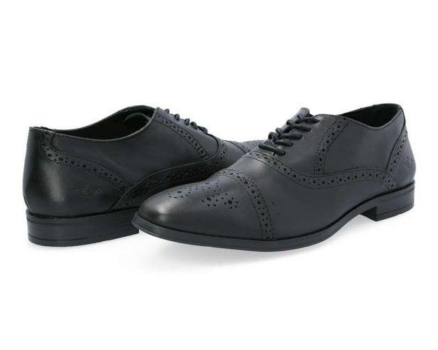 Oferta de Zapatos de Vestir marca Dockers de Piel color Negro para Hombre por $399