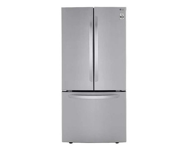 Oferta de Refrigerador Inverter LG Bottom Mount LM65BGS 25 pies color Plata por $19599