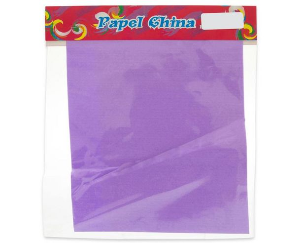Oferta de Papel China para Regalo Lila por $9