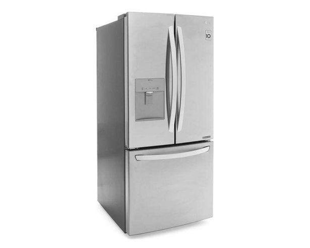 Oferta de Refrigerador Inverter LG Bottom Mount GF22WGS 22 Pies Acero Inoxidable por $22599