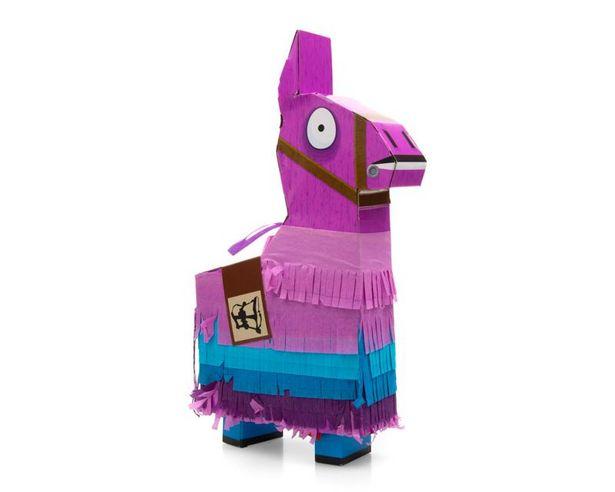 Oferta de Piñata Llama Drama Fortnite con Accesorios por $549