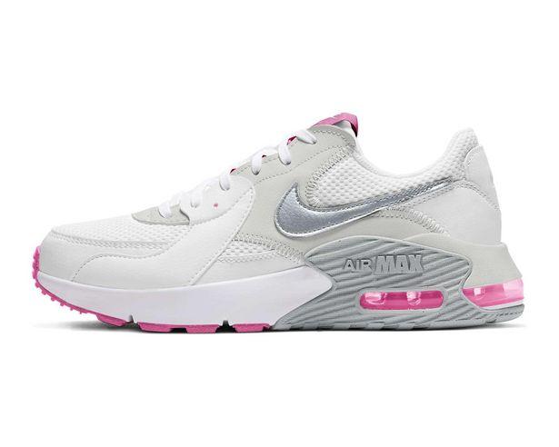 Oferta de Tenis Nike Air Max Excee color blanco para Mujer por $1339
