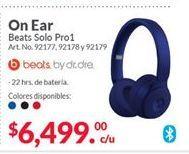 Oferta de Audífonos Beats por $6499