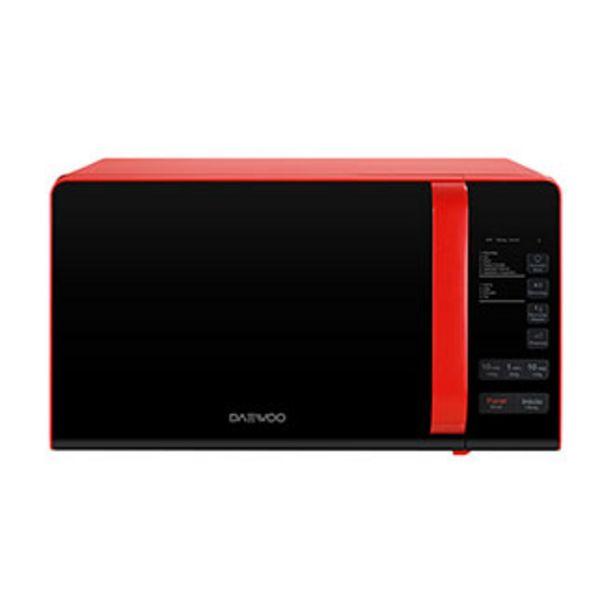 Oferta de Microondas 0.7p3 Daewoo KOR-663R Rojo por $2299