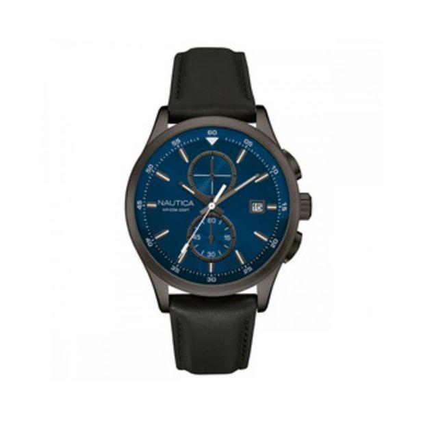 Oferta de Reloj Nautica Análogo Caballero Acero Inoxidable Nad185... por $3815.4