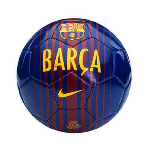 Oferta de Mini balón Nike FCB SKLS azul por $319