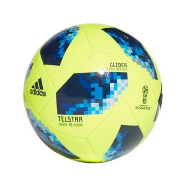 Oferta de Balón FIFA World Cup Glider 2018 Adidas amarillo por $447.3