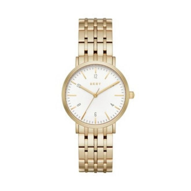 Oferta de Reloj Donna Karan Análogo Dama Acero Inoxidable NY2503 por $3394.3