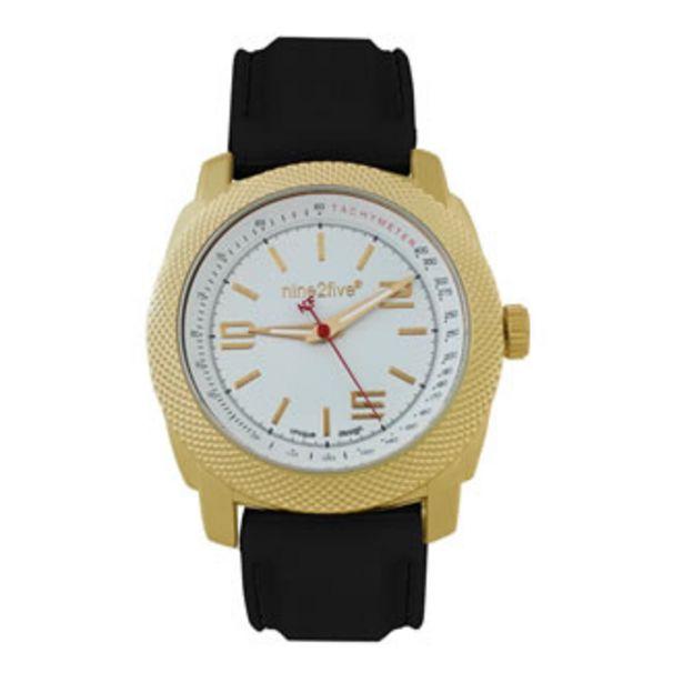 Oferta de Reloj Nine2five Análogo Caballero Silicón AGJN11NGBL Ne... por $474.5