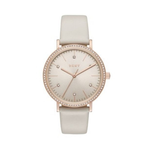 Oferta de Reloj Donna Karan Análogo Dama Acero Inoxidable NY2609 por $3394.3