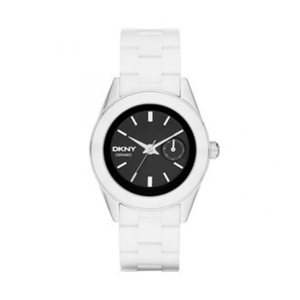 Oferta de Reloj Donna Karan Análogo Dama Acero Inoxidable NY2142 por $3389.4