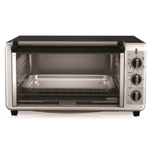 Oferta de Horno Tostador 8 Rebanadas Black and Decker TO3260XSBD ... por $2099.3