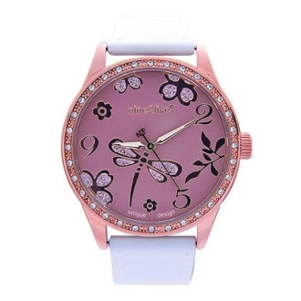 Oferta de Reloj Nine2five Análogo Dama Metal AFIZ09CFCF por $564.5