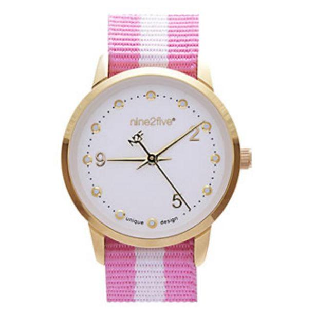 Oferta de Reloj Nine2five Análogo Dama Metal AALE09RSBL por $444.5