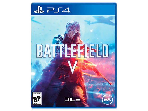 Oferta de Battlefield V PlayStation 4 por $478