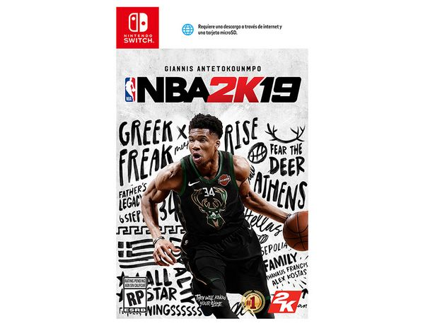 Oferta de NBA 2K19 FL Distribucion Nintendo Switch por $599