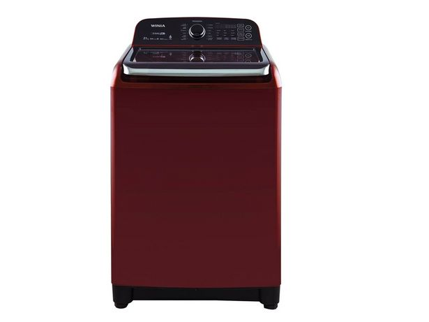 Oferta de Lavadora automática Winia 21 kg roja DWF-DB1B421ABDR1 por $13039.2