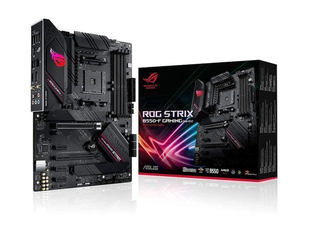 Oferta de Tarjeta Madre Asus ROG Strix B550-F Gaming Wi-Fi AM4 DDR4 ATX por $5499