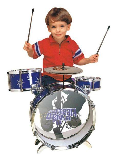 Oferta de Batería Infantil Fiesta Band Mytoy por $1099