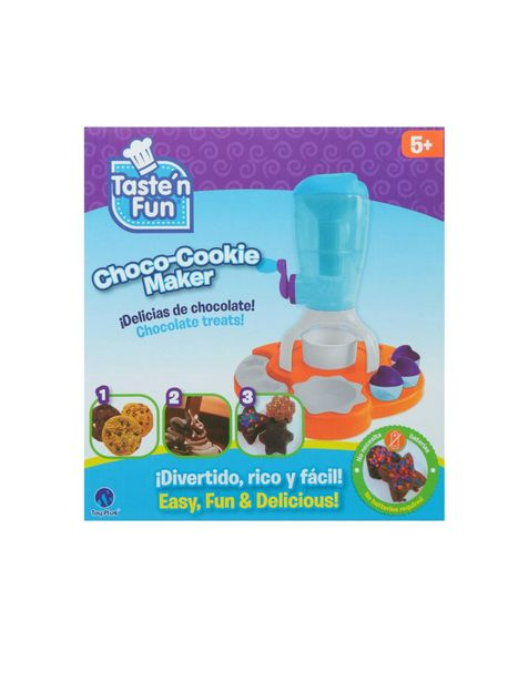 Oferta de Maquina para Hacer Galletas de Chocolate Taste'n Fun Toy Plus por $383.2