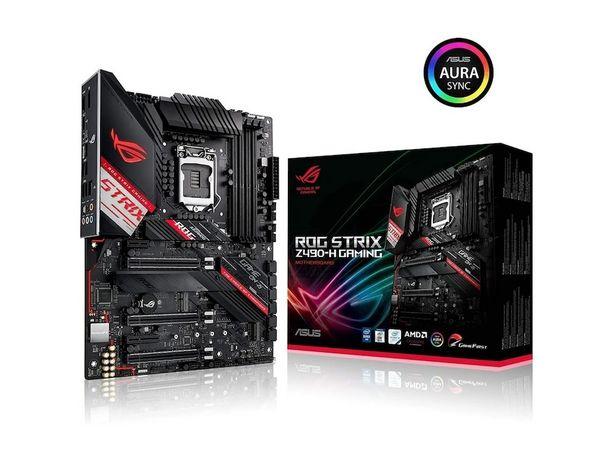 Oferta de Tarjeta Madre Asus ROG Strix Z490-H Gaming 1200 DDR4 ATX por $5999