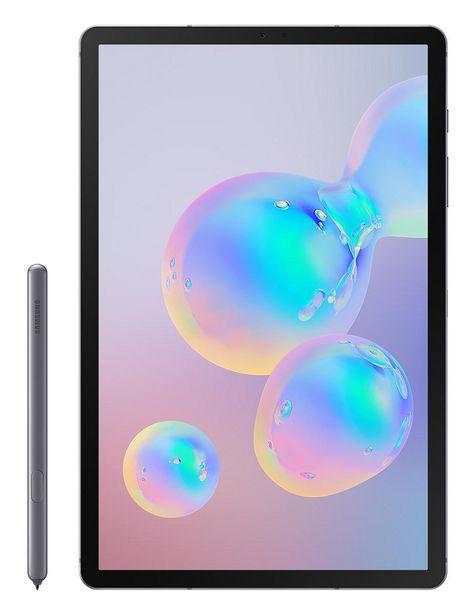 Oferta de Tablet Samsung Galaxy Tab S6 128 GB gris + S-Pen por $12799.2