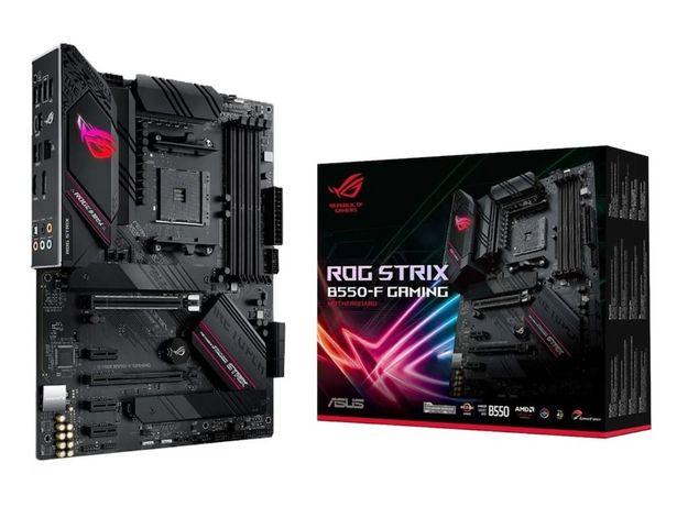 Oferta de Tarjeta Madre Asus ROG Strix B550-F Gaming AM4 DDR4 ATX por $5399