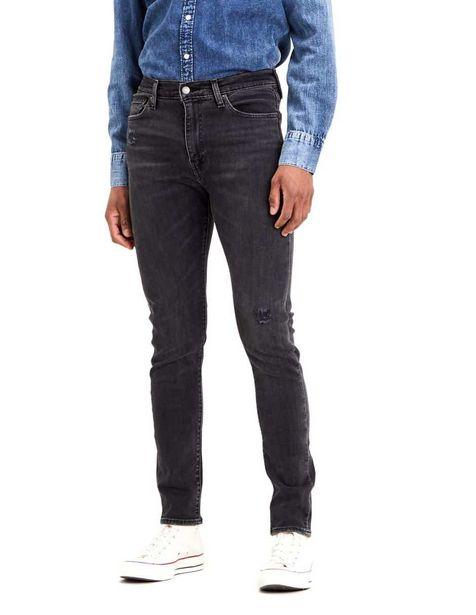 Oferta de Jeans Levi's corte skinny negro por $1007.37