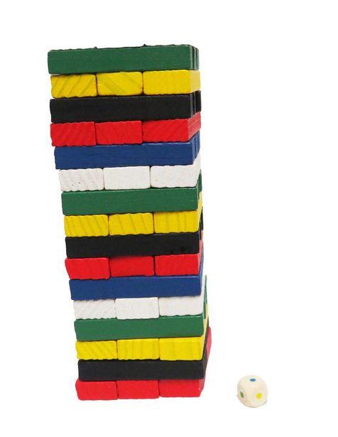 Oferta de Torre de balance Artesanal Fabi y Sofi Montessori: Juego de Mesa Didáctico por $498