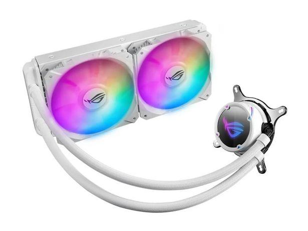 Oferta de Enfriamiento Liquido Asus ROG Strix LC 240 RGB 2x 120mm blanco por $4999