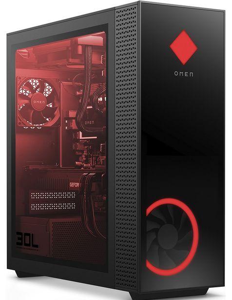 Oferta de Computadora Gamer HP Modelo Omen 30L Desktop GT13-0000LA, Intel Core i5, 16 GB RAM, 1 TB HD + 256 GB SSD por $31783.5