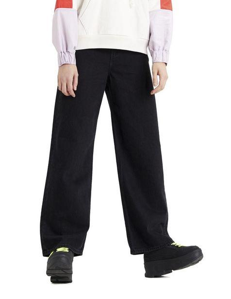 Oferta de Jeans Levi's corte relajado negro por $1007.37