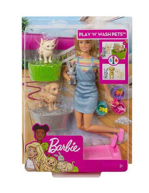 Oferta de Set Baño de Perritos Barbie por $383.2