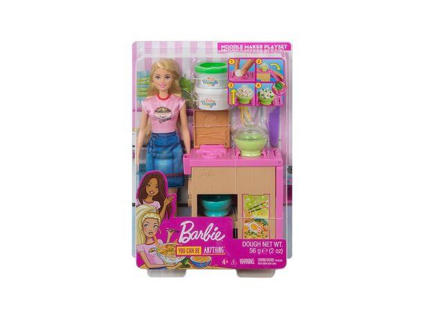 Oferta de Set Fabricante de Fideos Barbie Careers por $383.2