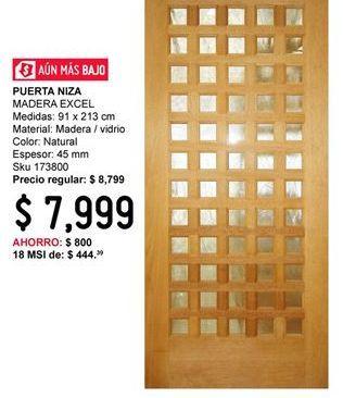 Oferta de Puerta Niza por $7999