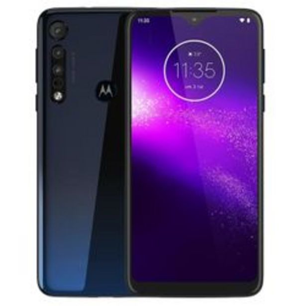 Oferta de Motorola Moto One Macro 64GB 4GB Dual Sim Triple Azul por $4299