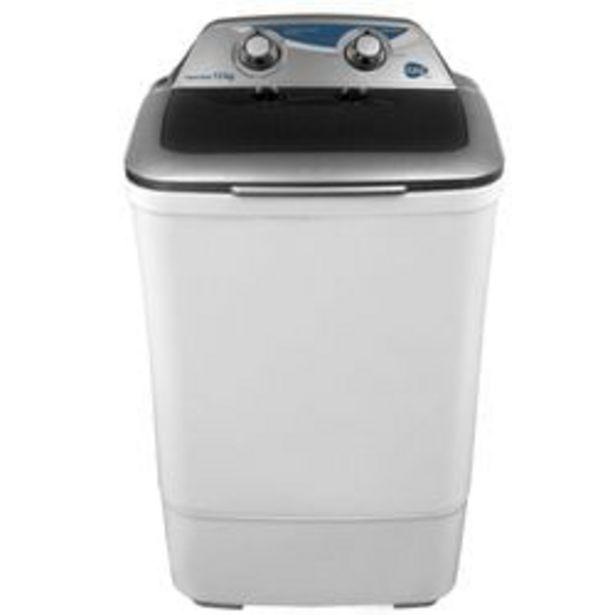Oferta de Lavadora Semiautomática Easy LIQ1220B0 12Kg Blanca por $2099