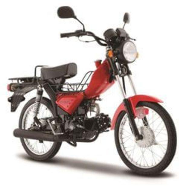 Oferta de Motocicleta de Trabajo Italika ST90 Roja por $12599