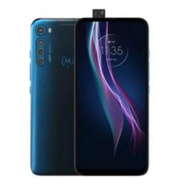 Oferta de Motorola Moto One Fusion Plus 128GB Desbloqueado - Azul Blackout por $6999