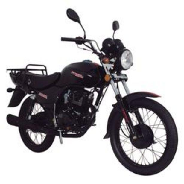 Oferta de Motocicleta de Trabajo Italika FT150G Negra por $21999