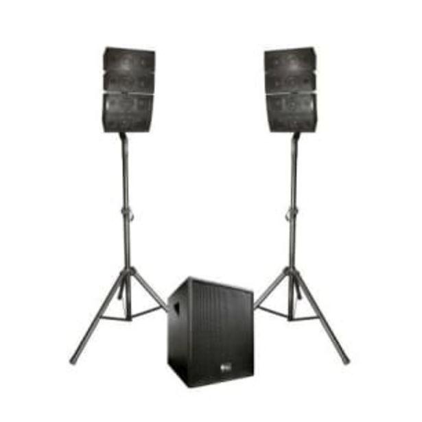 Oferta de Sistema de Audio Lineal Alienpro Vector de 15 Pulgadas 450 W RMS por $7671.65