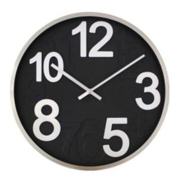 Oferta de Reloj de Pared Satinado por $246.54