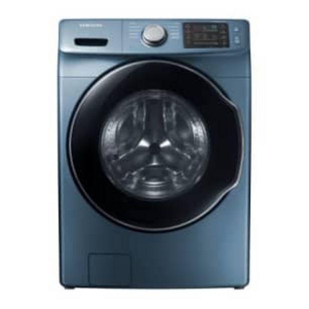Oferta de Lavadora Samsung Azul Zafiro Carga Frontal Digital Inverter 20 kg por $13639.15